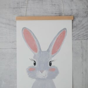 Poster Hase A4 Posterleiste Wunderwinzling 2
