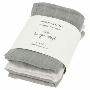 7000.21 3 Pack Muslin Cloths Lime Stone Lime Stone Extra 0